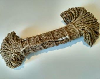 Jute rope twisted