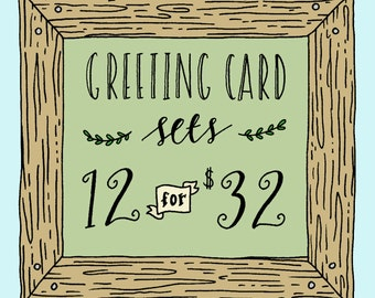 Greeting Card Set, All Occasion Greeting Card Set, Mix and Match Greeting Card Set