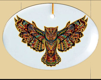 sm Suncatcher -Owl