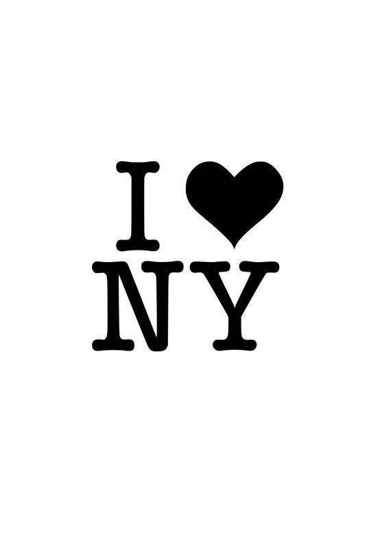 i love new york ny r outline svg digital download cuttable