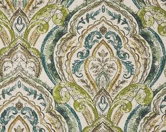 Dasmask Fabric-Batik Fabric-BEAUMONT-Maxwell-Fabric by the Yard-Upholstery-Pillows-Light Upholstery-Bedding-Drapery-Haze