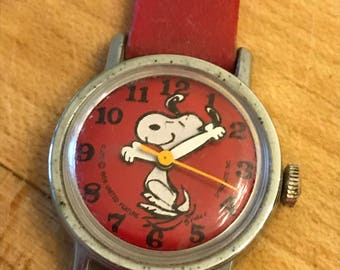 Vintage Snoopy Watch 1958