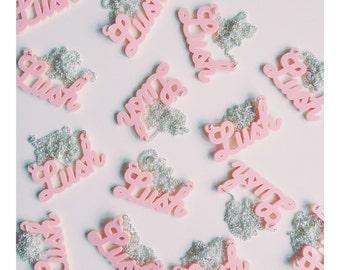 The 'Lush' Pale Pink Lasercut Necklace