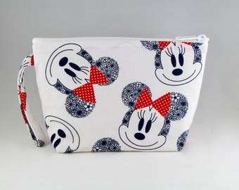 Big Bows Makeup Bag - Accessory - Cosmetic Bag - Pouch - Toiletry Bag - Gift