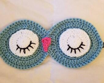 Crochet Owl Sleep Mask