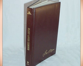 Flint by Louis L'Amour 1981 Leatherette Hardcover Edition