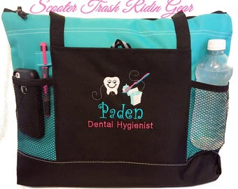 Free PRIORITY Shipping - Personalized Dental Hygienist Assistant DDS Tote Bag  - monogrammed New