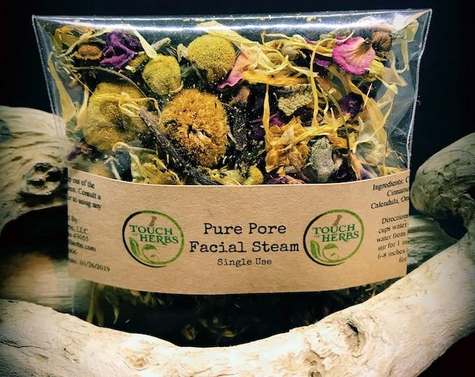 Herbal Facial Steam - Facial Steam - Single use facial steam - Organic Facial Steam - Natural skincare - Gifts under 5 dollar - Herbal steam
