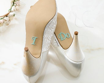 I Do Shoe Stickers,Bridal Shower Gift, Bachelorette Party, Engagement