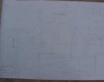 Mister Mulligan Model Airplane Plan 108 Inch Wing Span