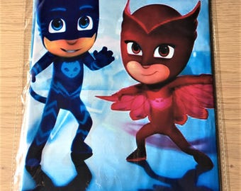 PJ Masks Table Cover Table Cloth PJ Masks Party Supplies PJ Masks Kids Party