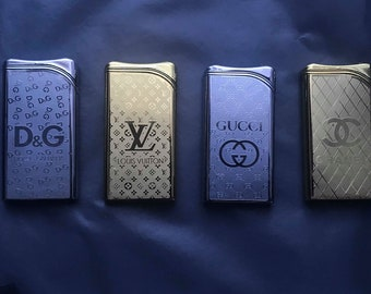 Fancy Unique Range Wind Proof Lighter Refillable Limited Edition Fast Selling 4 Design