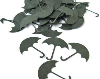 Umbrella Die Cuts Umbrella Confetti Table Decor Party Decor Scrapbooking Embellishments Set of 100 pcs