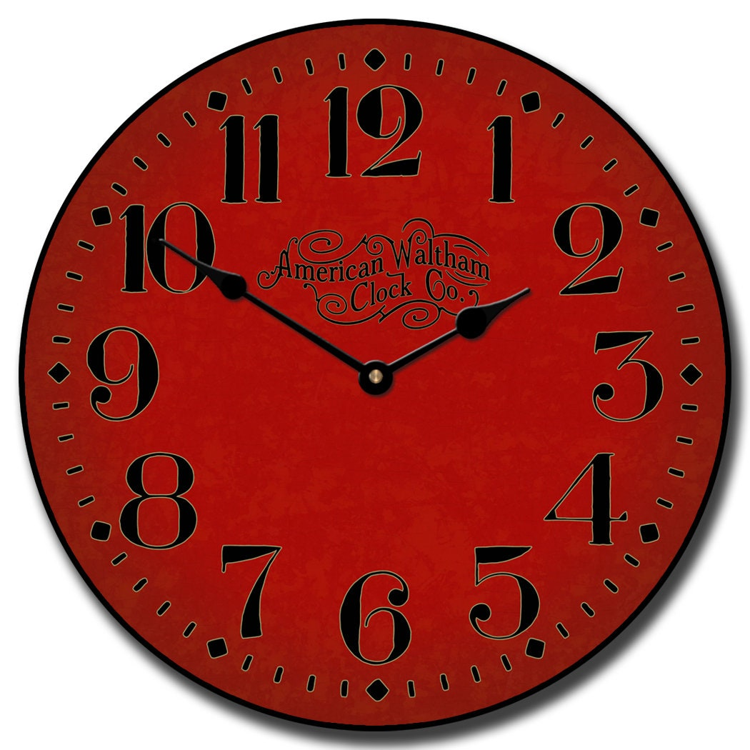 Houston Big Red Wall Clock