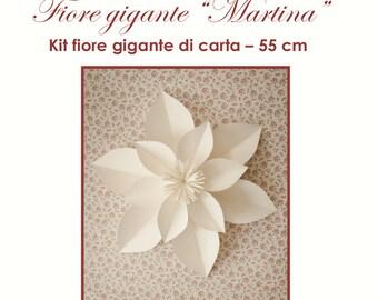 "kit fiore  di carta ""Martina"""