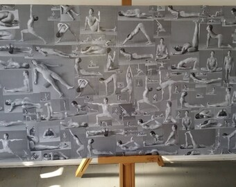 Rodney Yee Yoga collage