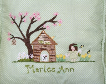 Pillow for Childs Rocking Chair Custom