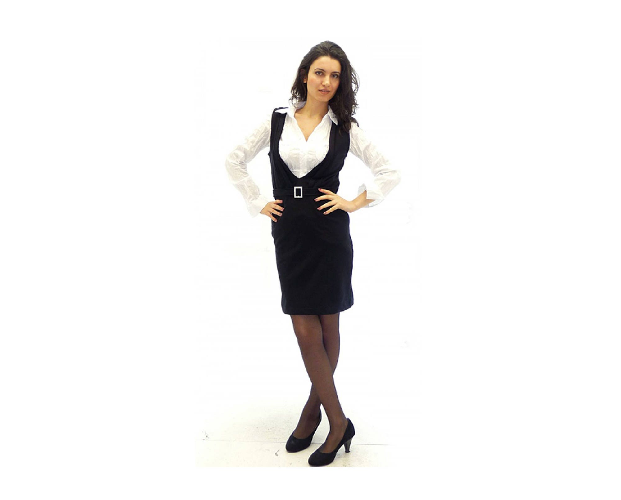 Overall Dress Black Overall Dress Black Pinafore Maxi