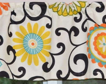 Paisley Valance Whimsy Paisley Multi Color By Covington