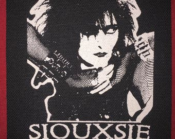 Siouxsie And The Banshees Cloth Punk Patch