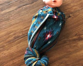 Soft Cotton Southwest Swaddle Baby Blanket Southwestern Fabric
