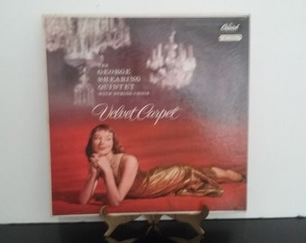 The George Shearing Quintet with String Choir - Velvet Carpet - Circa 1956