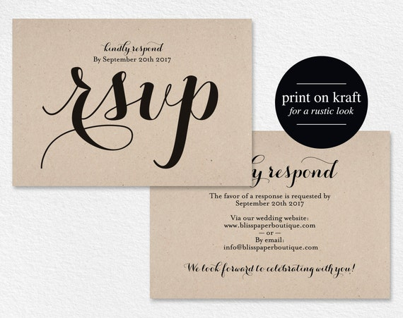 Rsvp postcard rsvp template wedding rsvp cards wedding rsvp stopboris Choice Image