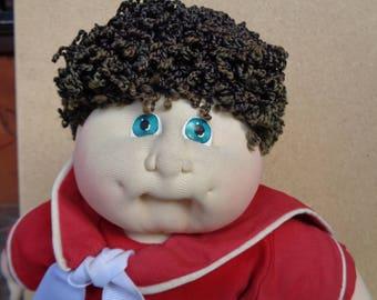 """vintage Cabbage Patch kids doll, geoffrey ellis, soft sculpture16"""" doll"""