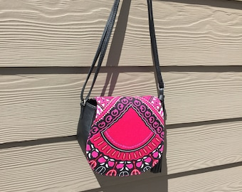 Dashiki Purse Pink
