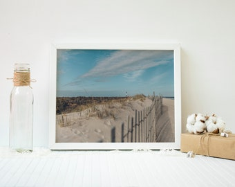 Instant download Beach, sand, dunes, lighthouse, long island, sky, fire island digital, print, home decor ***INSTANT DOWNLOAD***