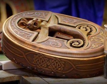 Viking style shaman drum