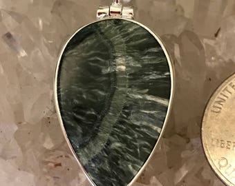 Beautiful Seraphinite Necklace
