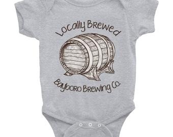 Bayboro Brewing 'Locally Brewed' Onesie