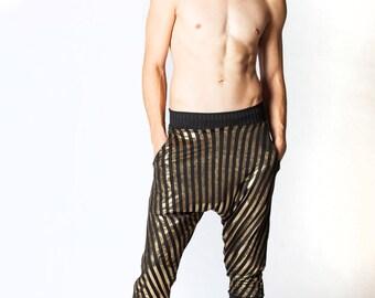 Avery Pants, Men's Yoga Pants, Yoga Wear, Harem Pants, Joggers, Drop Crotch Pants, Festival Clothes, Men's Festival, Burning Man