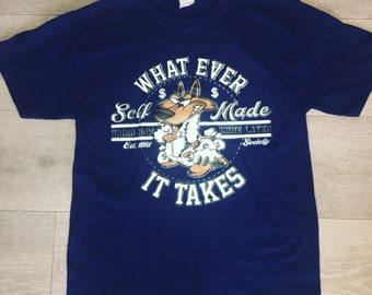 Wolf in sheeps clothing (navy) Tee