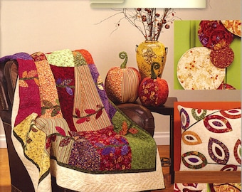 Bittersweet - Pattern Book by Art to Heart - Nancy Halvorsen Quilt Patterns - 12 Quilts, Pillows and More! (W1047)