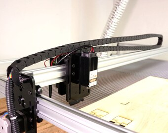 X Axis Cable Chain Upgrade for Openbuilds Acro Laser Cutter 1500mm 1000mm