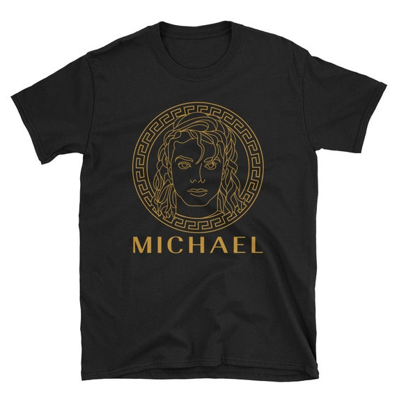 Medusa Michael Softstyle Unisex Shirt  - Gold