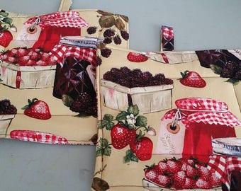 Berries and Jam Potholders