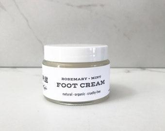 Rosemary + Mint Foot Cream
