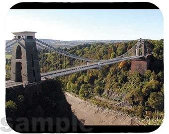 Mouse Pad; Clifton Suspension Bridge In Bristol