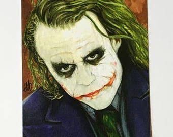 The Dark Knight Series - Joker Print - Two of Three
