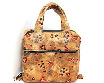Essential Oil Case Holds 20+ Bottles Essential Oil Bag - Choose your fabric - set 2