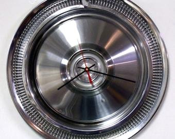 1980 Dodge Aspen Plymouth Volare Hubcap Clock - Mopar Hub Cap Wall Clock - SALE