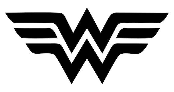 Wonder Woman Logo Decal