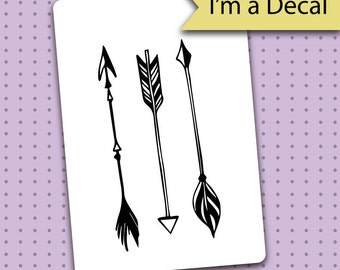 Bullet Journal Decal - 3 Arrows Decal for Bullet Journals - Bullet Journal - Planner gift