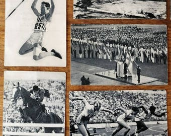 Collecting Pictures Olympic Games 1952