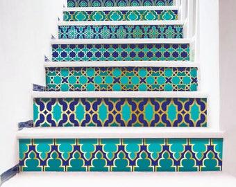 Marokkaanse tegel sticker | Etsy