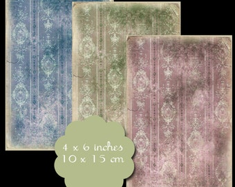 6 Grungy Background Tags