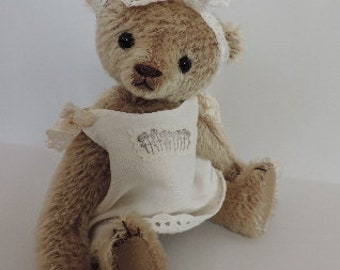 Posie - OOAK Mohair Artist Bear - Aleta Breese